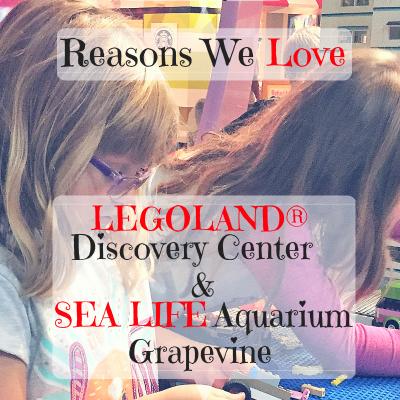 10 Reasons We Love LEGOLAND® Discovery Center Dallas Fort Worth and SEA LIFE Aquarium Grapevine