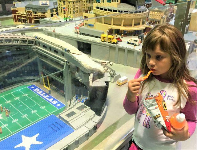 LEGO Dallas Cowboys stadium