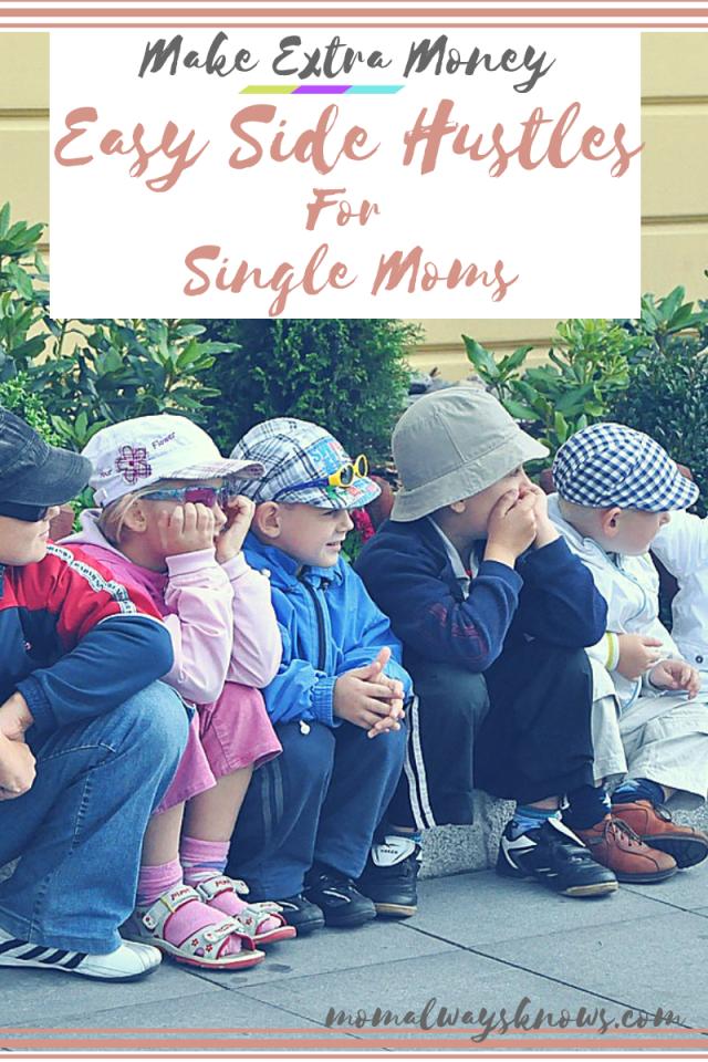 single moms side hustle ideas