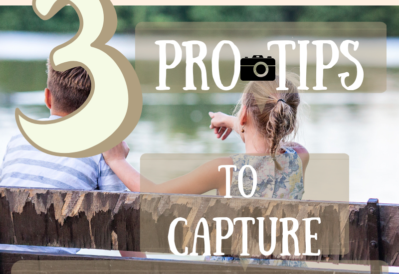 tips for taking pics of kids