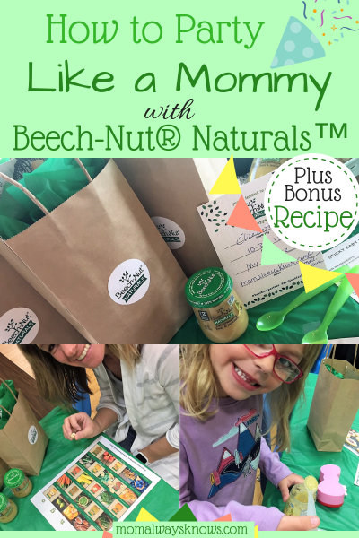 How to Party like a Mommy with Beech-Nut® Naturals™ plus bonus recipe