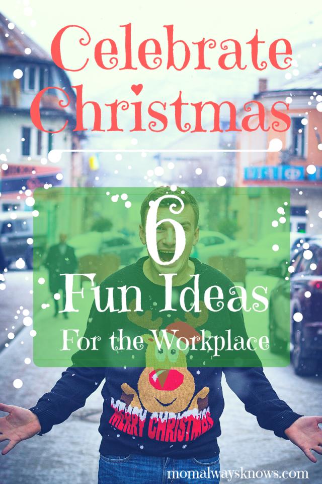 ideas for fun office christmas