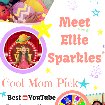 Meet Ellie Sparkles- Cool Mom Pick Best YouTube Toy Game Show Channel