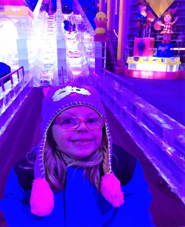 gaylord ice slides