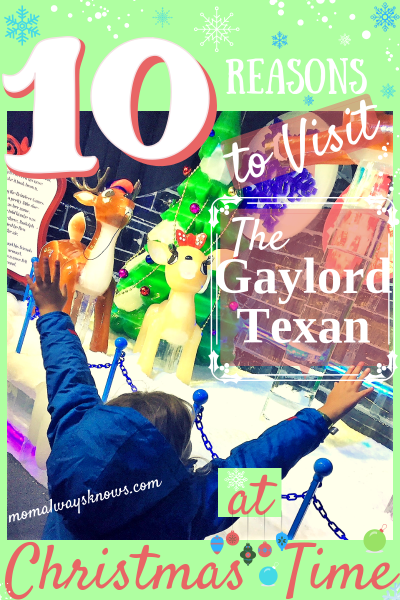 10 Reasons to Visit the Gaylord Texan at Christmas Time Plus 40% off Promo