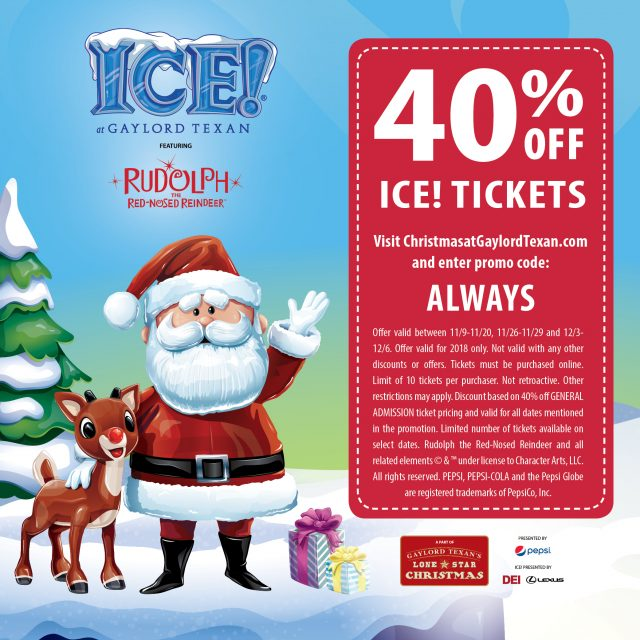 coupon for ice gaylord