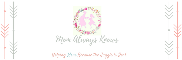 mom always knows logo