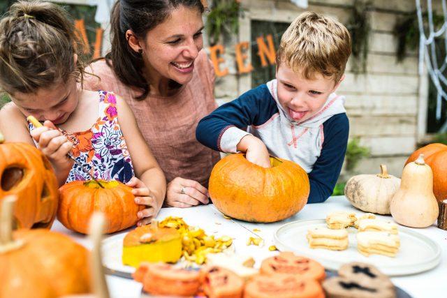 easy diy Halloween crafts for kids