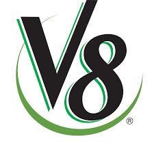v-8 logo