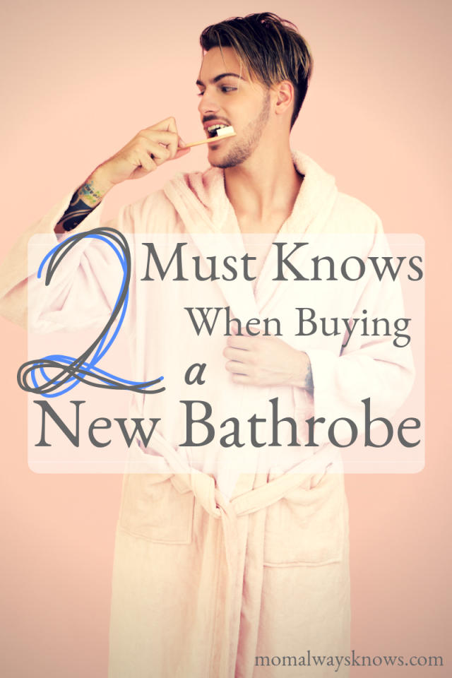 how to buy a bathrobe