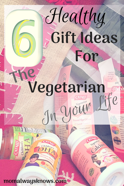 6 Healthy Gift Ideas for the Vegetarian in Your Life