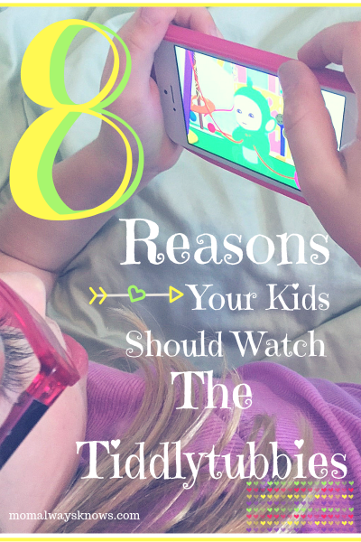8 Reasons Your Kids Should Watch The Tiddlytubbies