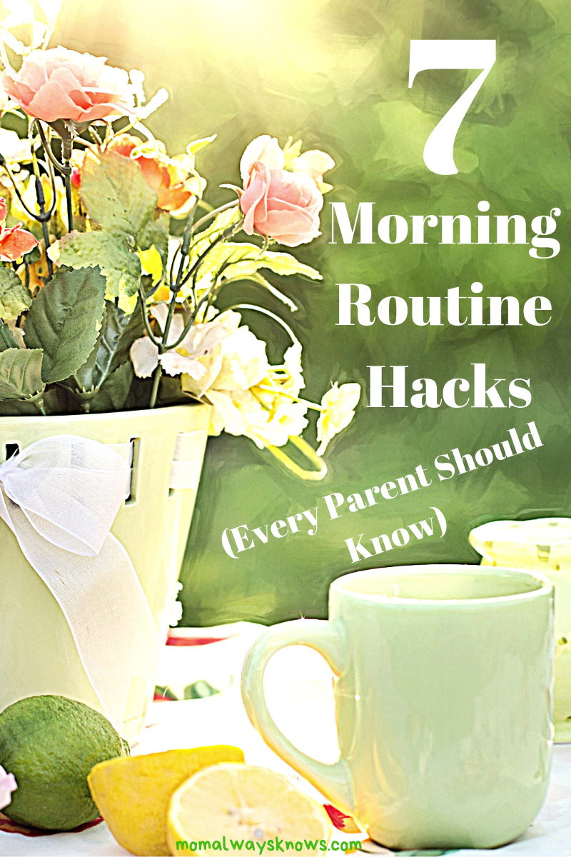 Morning hacks for parents