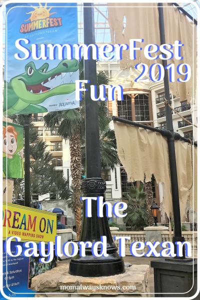 SummerFest Fun at the Gaylord Texan