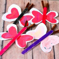 Love Bug Valentine's Day Craft for Kids