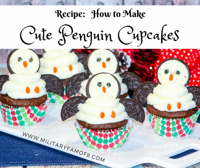 recipe penguin cupcakes