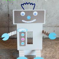 Robot Valentine's Day Mailbox