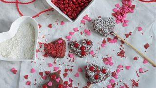 Easy Chocolate Apple Valentine Treats