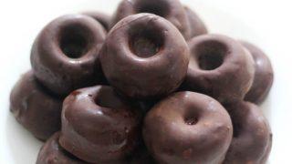 Gluten-Free Chocolate-Covered Mini Doughnuts (Vegan, Allergy-Free)